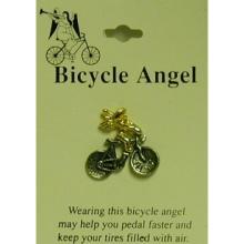 Bicycle Angel Pin
