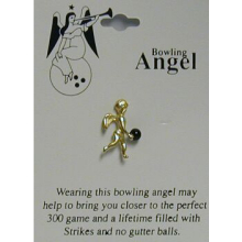 Bowling Angel Pin