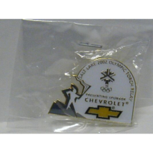 2002 OlympicTorch Relay Pin