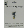 Ice Skating Angel Pin