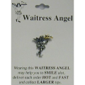Waitress Angel Pin