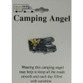 Camping Angel Pin
