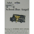School Bus Angel Pin