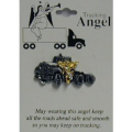 Trucking Angel Pin