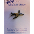 Airplane Angel Pin
